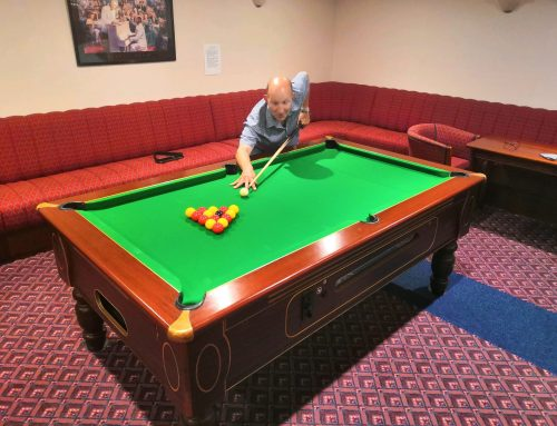 Mizzymead Welcomes New Pool Table